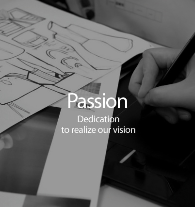 PASSION - With passion to make a beautiful world