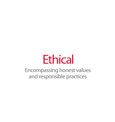 Ethical - A transparent and honest group